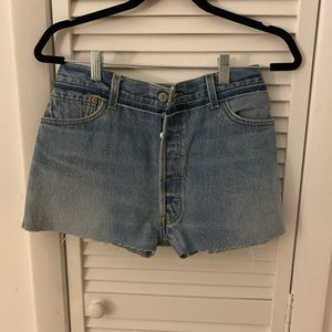 Re/done cut off shorts - 26